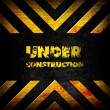 Royalty-Free Stock Photo: Under construction background