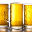 Foto Stock: Beer mugs