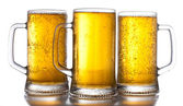 Beer mugs — Stockfoto