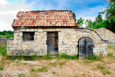 Small Ukrainian historical house — Stock Photo