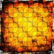 Stock Photo: Squares on the grunge background