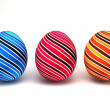 3d Easter eggs - Stock Photo