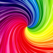 Spectral twirl background - Stock Photo