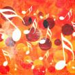 Royalty-Free Stock Photo: Abstract musical background