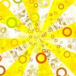 Grunge sun rays — Stock Photo #7455131