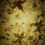 hojas de grunge en lona — Foto de Stock   #7455326