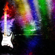 Royalty-Free Stock Photo: Guitare color grunge
