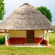 Traditional Ukrainian Homestead in Pirogovo ethnic park — Stock Photo