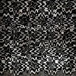 moderna mörka ringar grunge konsistens — Stockfoto