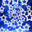 Blue stars — Stock Photo