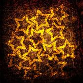 Grunge textura de la tela de estrellas — Foto de Stock