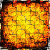 Squares on the grunge background — Stock Photo