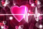 Hjärtat slog — Stockfoto