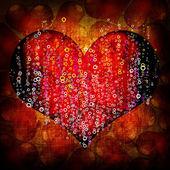 Valentine's day red background — Zdjęcie stockowe