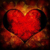Valentine's day red background — Stok fotoğraf