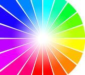 Abstract spectrum rays — Stock Photo