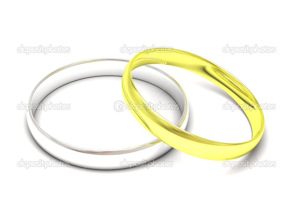 gold and silver wedding rings stock photo 169 denisovd