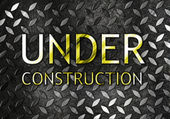 Under construction background — Stock Photo