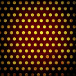 Grunge dots background - Stock Photo