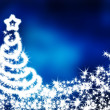 Blue christmas background — Stock Photo #7793532