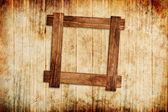 Wood frame background — Stock Photo