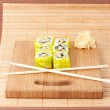 Sushi set background — Stock Photo #7864766