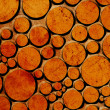 Orange dots on grunge background — Stock Photo #7864994