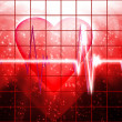 Stock Photo: cardial heart beating