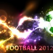 Royalty-Free Stock Vector Image: Light football banner