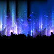 Royalty-Free Stock Vector Image: Colorful night city