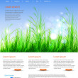 Web page layout — Stock Vector