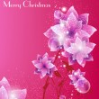 Merry Christmas Elegant Background - Stock Vector