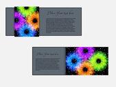 цветок дизайн баннеров — Cтоковый вектор