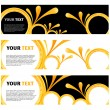 Royalty-Free Stock Vector Image: Abstract modern banner set