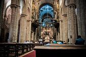 Santiago de compostela kilisesi — Stok fotoğraf