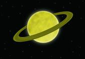 Saturn — Stock Photo