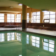 Indoor swimming pool — Stock Photo