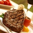 Stock Photo: Rib Eye Steak