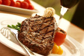 Rib Eye Steak — Stock Photo