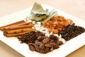 Spice Tray — Stock Photo