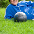 Soccer time — Stock Photo
