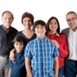 Stock Photo: Extended IndiFamily