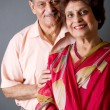 Royalty-Free Stock Photo: Elderly East Indian Couple