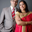 Stock Photo: East Indian Couple