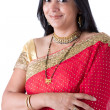 Beautiful Indian Woman in a Sari — Stock Photo