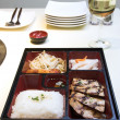 Korean Food - Pento Box — Stock Photo