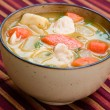 Chicken Soup - Caribbean Style — Stock Photo