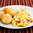 Stock Photo: Vegetable Dumpling with Saltfish