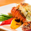 Lobster Dinner - Stock Photo