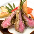 Stock Photo: Crusted Lamb Chops